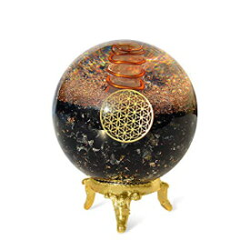 Orgonite Crystal Black Tourmaline Crystal Ball with