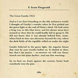 F. Scott Fitzgerald The Great Gatsby - Wall Decor