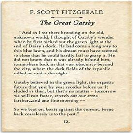 F. Scott Fitzgerald - The Great Gatsby - 11x14 U