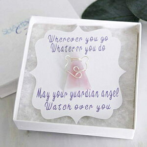 Guardian Angel Brooch and Pins, Breast Cancer Ins