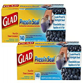 Glad Press'n Seal Food Wrap, 140 sq ft-2 Pack
