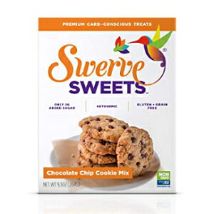 Swerve Sweets、チョコレートチップクッキーミックス、9.3オンス Swerve Sweets, Chocolate Chip Cookie Mix, 9.3 Oz