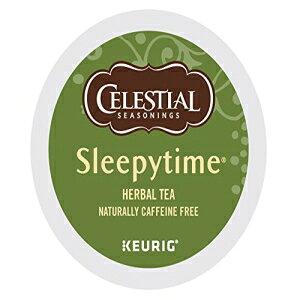 Celestial Seasonings Sleepytimeハーブティー、Keurig Kカップ醸造用Kカップポーションパック、24カウント Celestial Seasonings Sleepytime Herbal Tea, K-Cup Portion Pack for Keurig K-Cup Brewers, 24-Count