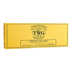 TWGティー-フレンチアールグレイ(PACKTB3005)-15 x 2.5grティーバッグ Unknown TWG Tea - French Earl Grey (PACKTB3005) - 15 x 2.5gr Tea bags