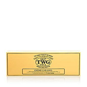TWGティー-クリームキャラメルティー(PACKTB2004)-15 x 2.5grティーバッグ Unknown TWG Tea - Creme Caramel Tea (PACKTB2004) - 15 x 2.5gr Tea bags