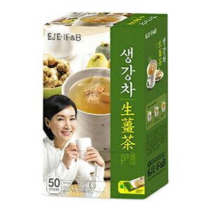 DAMTUH韓国伝統茶プレミアムジンジャーティープラス、ジンジャーパウダー、ハーブサプリメントヘルシージンジャーティー、50本 DAMTUH Korean Traditional Tea Premium Ginger Tea Plus, Ginger Powder, Herbal Suppl