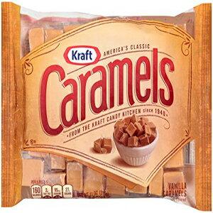 クラフトバニラキャラメル11オンス Kraft Vanilla Caramels