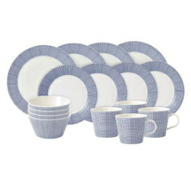 Royal Doulton Pacific Dots 16 Piece Dinner Set,