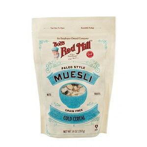 ボブのレッドミル| グレインフリーコールドシリアル| パレオスタイルミューズリー| 本物のドライフルーツ| 14オンス Bob's Red Mill Bob's Red Mill | Grain Free Cold Cereal | Paleo Style Muesli | Real Dried Fruits