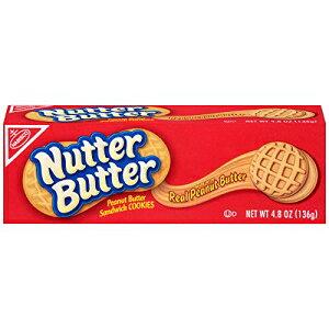 Nutter Butter Peanut Butter Sandwich Cookies, 4.8