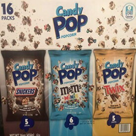 Candy Pop Popcorn Party Pack 16 1oz bags