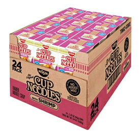 Nissin Hot Product of Nissin Cup Noodles with Shrimp, 24 pk./2.25 oz. - SET OF 2