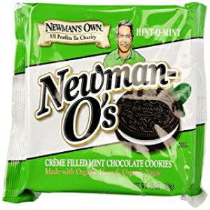 Newman's Own OrganicsクッキーOミントクリーム、13オンス Newman's Own Organics Cookie O Mint Creme, 13 oz
