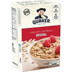 Quaker Oats Foodsインスタントオートミール-オリジナル-パケット-11.80オンス-12 /ボックス Quaker Oats Foods Instant Oatmeal - Original - Packet - 11.80 oz - 12 / Box