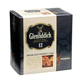 14.1オンス(1パック)、ウイスキーケーキ、ウォーカーズショートブレッドグレンフィディックハイランドホリデーウイスキーケーキ、14.1オンスボックス 14.1 Ounce (Pack of 1), Whisky Cake, Walkers Shortbread Glenfiddich Highland Holiday Whisky Cak