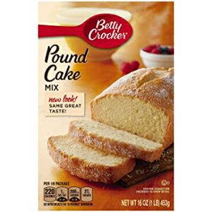 ベティクロッカーパウンドケーキミックスボックス-16オンス-2パック Visit the Betty Crocker Store Betty Crocker Pound Cake Mix Boxes - 16 oz - 2 Pack