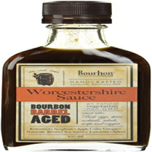 バーボン樽熟成ウスターソース100ml(2パック) Bourbon Barrel Foods Bourbon Barrel Aged Worcestershire Sauce 100ml (2 Pack)