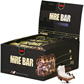 Visit the REDCON1 Store German Chocolate Cake, Redcon1 MRE Bar - Meal Replacement Bar (1 Box / 12 Bars) (German Chocolate Cake)