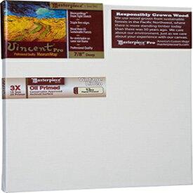 3X Cotton 10.3oz Masterpiece Artist Canvas VC-3248 Vincent Pro 7//8 Deep 32 x 48 Carmel Portrait Smooth
