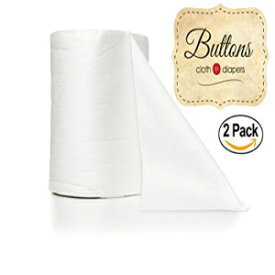 Buttons Diapers XLarge Buttons Flushable Disposable 100% Bamboo Viscose Diaper Liners, Biodegradable, Environmentally Friendly, Septic and Sewer Safe, Fragrance and Chlorine Free (200 Count)