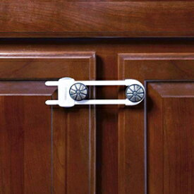 """Toddleroo by North States Sliding Cabinet Locks 