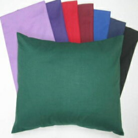 SHEETWORLD.COM SheetWorld Comfy Travel Pillow Case - 100% Soft Cotton Percale - Black - Made in USA