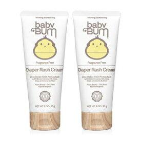 Baby Bum Diaper Rash Cream Fragrance Free Natural