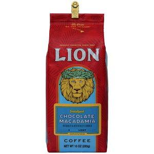 10オンス(1パック)、挽いたもの、ライオンコーヒー、チョコレートマカダミアフレーバー、ライトロースト-挽いたもの、10オンスのバッグ 10 Ounce (Pack of 1), Ground, Lion Coffee, Chocolate Macadamia Fla