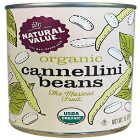 Natural Value Organic Cannellini Beans, 15 Ounce