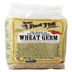 Bob's Red Mill Wheat Germ Natural Raw Grain-12オンス(2パック) Visit the Bob's Red Mill Store Bob's Red Mill Wheat Germ Natural Raw Grain -- 12 oz (2 PACK)