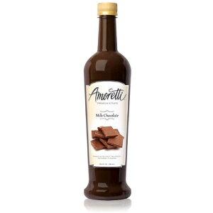 アモレッティプレミアムシロップ、ミルクチョコレート、25.4オンス Amoretti Premium Syrup, Milk Chocolate, 25.4 Ounce