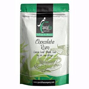 スペシャルティーカンパニーチョコレートラムルース紅茶、16オンス。 Special Tea Company Chocolate Rum Loose Black Tea, 16 oz.