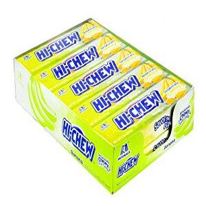ハイチュウ、キャンディーバナナ、カウント10(1.76オンス)の製品-シュガーキャンディー/グラブの品種とフレーバー Product Of Hi-Chew, Candy Banana, Count 10 (1.76 oz ) - Sugar Candy / Grab Varieties & Flavors