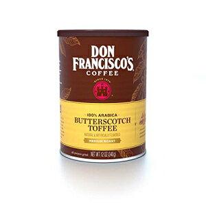 ドンフランシスコのグランドバタースコッチフレーバーコーヒー(12オンス缶) Don Francisco's Ground Butterscotch Flavored Coffee (12-ounce can)