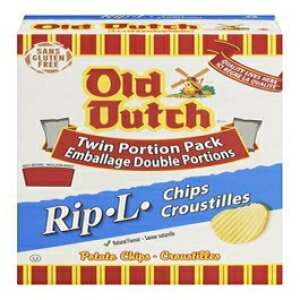 Old DutchRip-Lボックスポテトチップス220g / 7.8oz。(カナダから輸入) Old Dutch Rip-L Boxed Potato Chips 220g/7.8oz. (Imported from Canada)