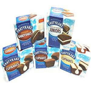 Tastykakeアルティメットチョコレートラバーズアソートメント| 5箱スナックケーキ| チョコレートカップケーキ、クリーム入りカップケーキ、バタークリームアイスケーキ、チョコレートキャ