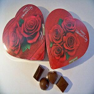 ハート型の箱に入ったエルマーチョコレート(2パック) Elmer Chocolate in Heart Shaped Boxes (Pack of 2)