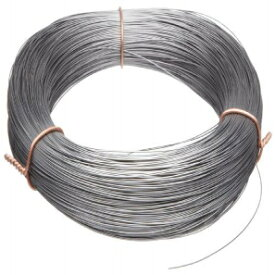 """Small Parts High Carbon Steel Wire, Mill Finish #2B (Smooth) Finish, Grade #2B Smooth, Full Hard Temper, Meets ASTM A228 Specifications, 0.125"""" Diameter, 24' Length, Precision"""