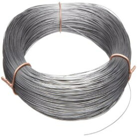 """Small Parts High Carbon Steel Wire, Mill Finish #2B (Smooth) Finish, Grade #2B Smooth, Full Hard Temper, Meets ASTM A228 Specifications, 0.100"""" Diameter, 37' Length, Precision"""
