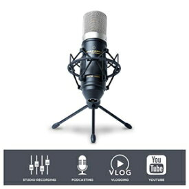 Marantz Professional Marantz Pro MPM1000 - Studio Recording Condenser Microphone with Shockmount, Desktop Stand and Cable – Perfect for Podcasting and Voiceover Projects