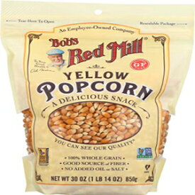 Bob's Red Mill Yellow Popcorn, 30 Ounce, Resealable Bag