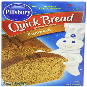 Pillsbury Pumpkinクイックパンとマフィンミックス-14オンス(3パック) Pillsbury Pumpkin Quick Bread and Muffin Mix - 14 oz (Pack of 3)