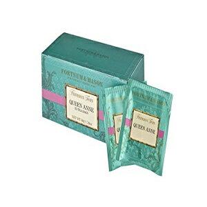 フォートナム&メイソンブリティッシュティー、クイーンアンブレンド、25カウントティーバッグ(1パック) Fortnum & Mason British Tea, Queen Anne Blend, 25 Count Teabags (1 Pack)