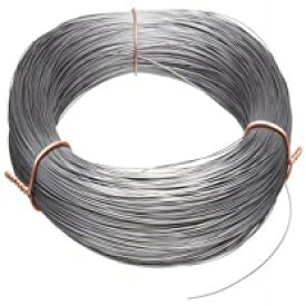 """Small Parts-21022 High Carbon Steel Wire, Mill Finish #2B (Smooth) Finish, Grade #2B Smooth, Full Hard Temper, Meets ASTM A228 Specifications, 0.022"""" Diameter, 774' Length, Precision"""