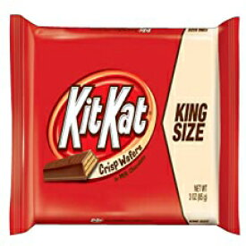 King Size (Pack of 24), Kit Kat Candy Bar, Crisp Wafers in Milk Chocolate, 3-Ounce Bars (Pack of 24)