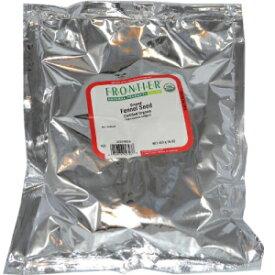 フロンティアナチュラルプロダクツオーガニックグランドフェンネルシードパウダー-1ポンド Frontier Natural Products Organic Ground Fennel Seed Powder -- 1 lb