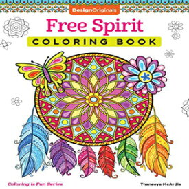 Paperback, Free Spirit Coloring Book (Coloring is Fun) (Design Originals) 32 Whimsical & Quirky Art Activities from Thaneeya McArdle on High-Quality, Extra-Thick Perforated Pages that Resist Bleed-Through