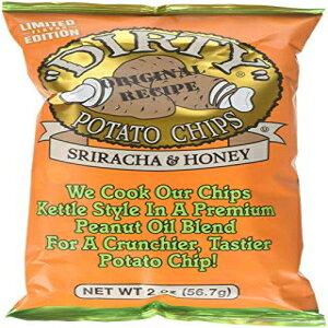 ダーティポテトチップス、シラチャ&ハニー、2オンス(25パック) Dirty Potato Chips, Sriracha & Honey, 2 Ounce (pack of 25)