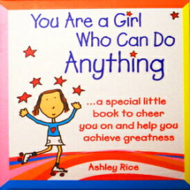 """Blue Mountain Arts Little Keepsake Book: You Are a Girl Who Can Do Anything, 2.75"""" x 3.25"""""""