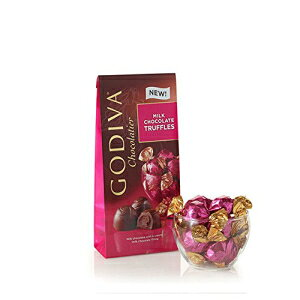 ゴディバショコラティエミルクチョコレートトリュフ、ギフトパック、ギフトに最適、チョコレートトリート、19ピース Godiva Chocolatier Milk Chocolate Truffles, Gift Pack, Great for Gifting, Chocolate Treats, 19